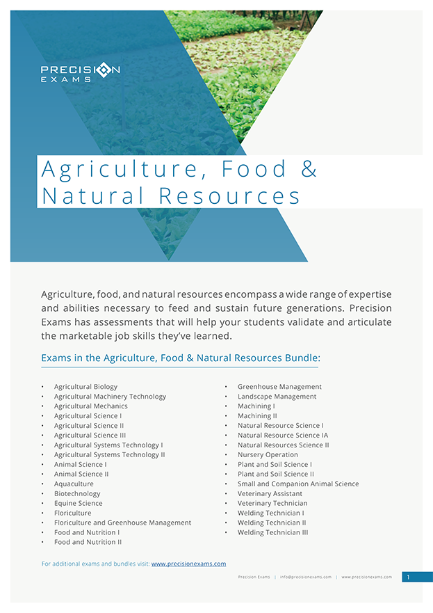Exam-Bundle---AGRICULTURE,-FOOD-&-NATURAL-RESOURCES-(2019)