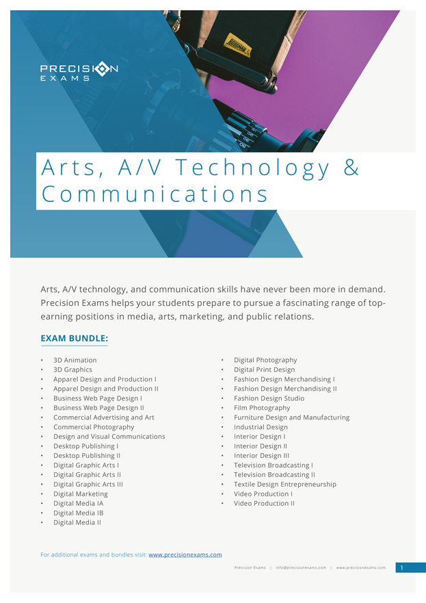 Exam-Bundle---Arts,-AV-Technology-&-Communications-(2019)