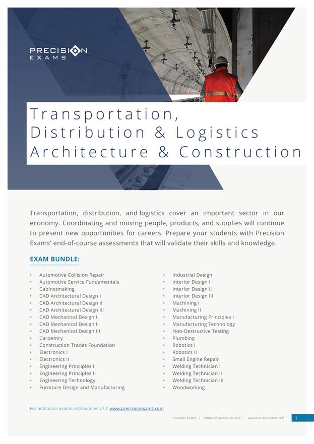 Exam-Bundle---Transportation-Distribution-&-Logistics-Architecture-&-Construction-(2019)